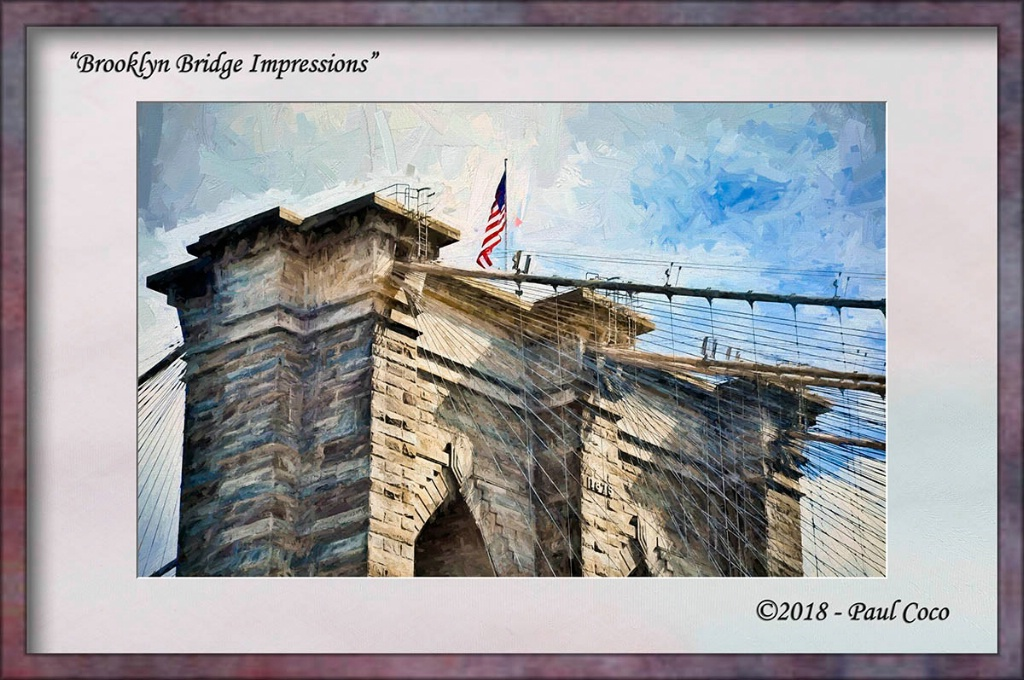 Brooklyn Bridge Impressions