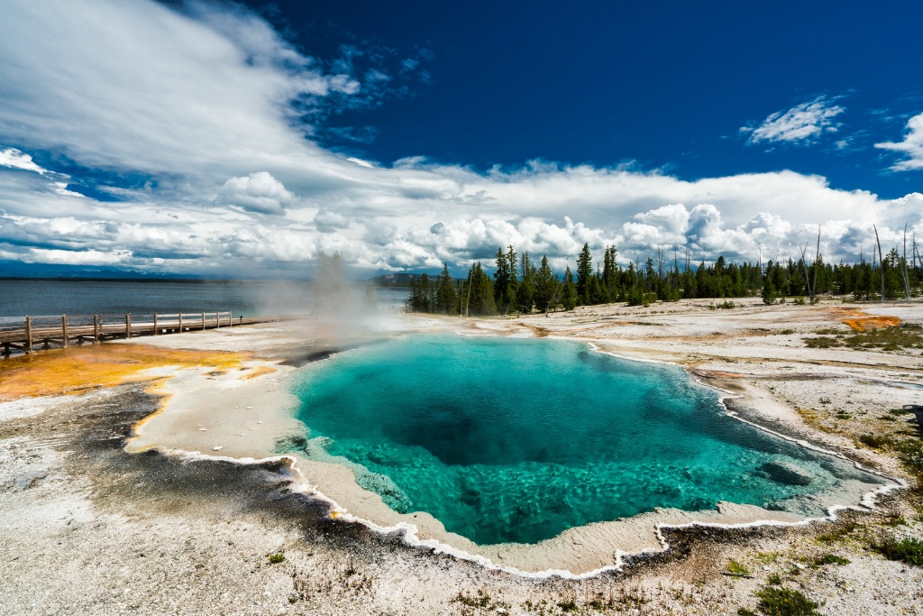Yellowstone Green Pool