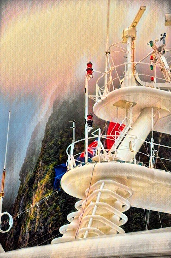 Cruising Fjordland