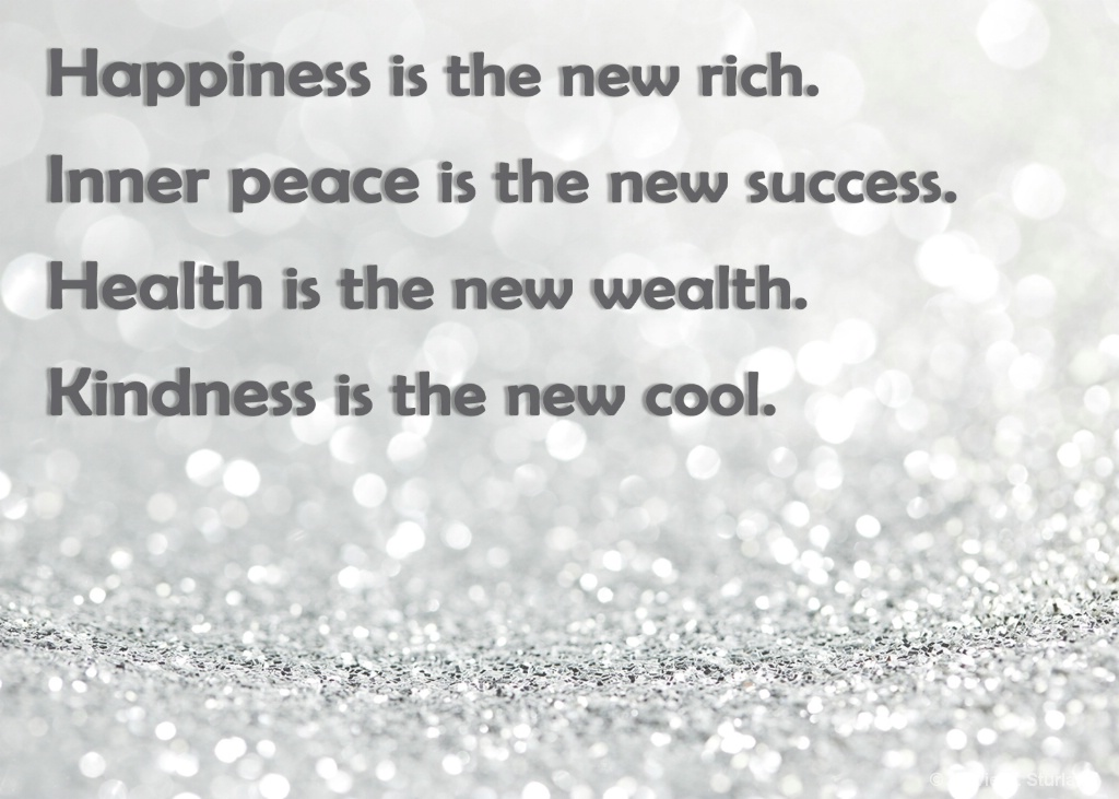 happiness is the new
