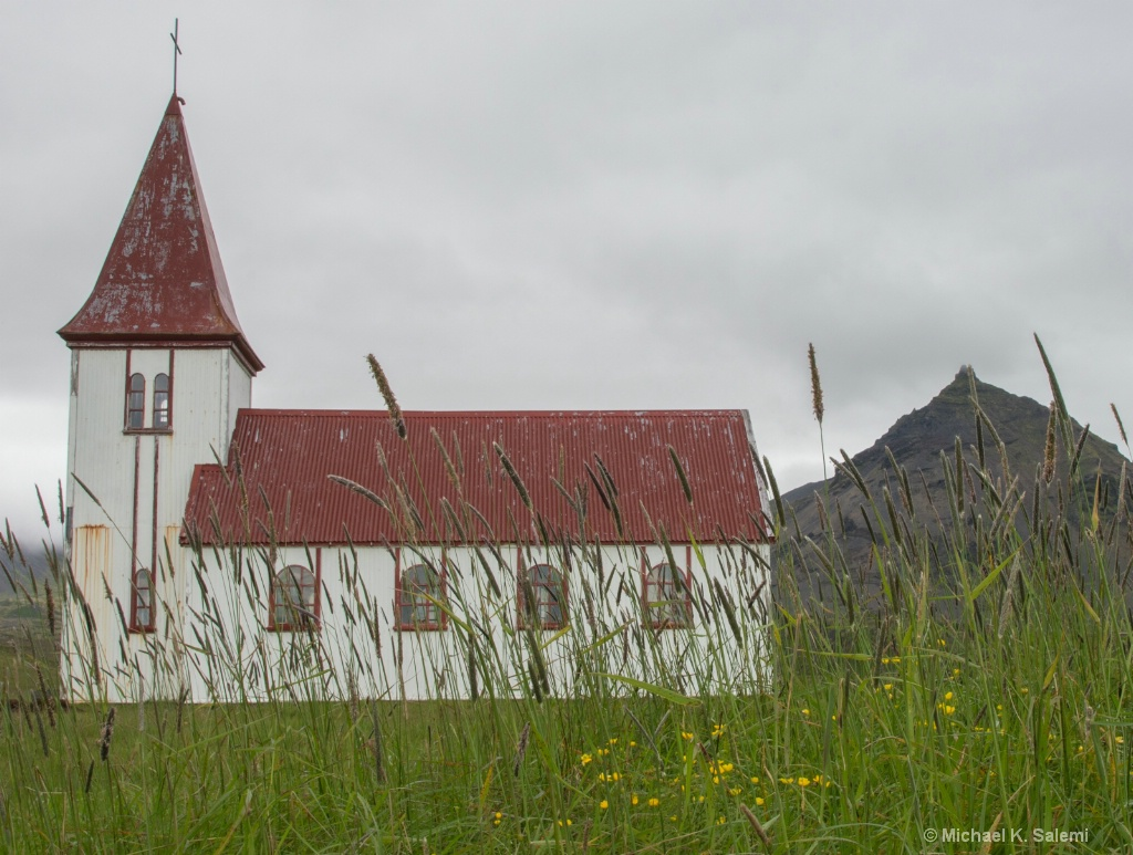Church in Hellnar Valley