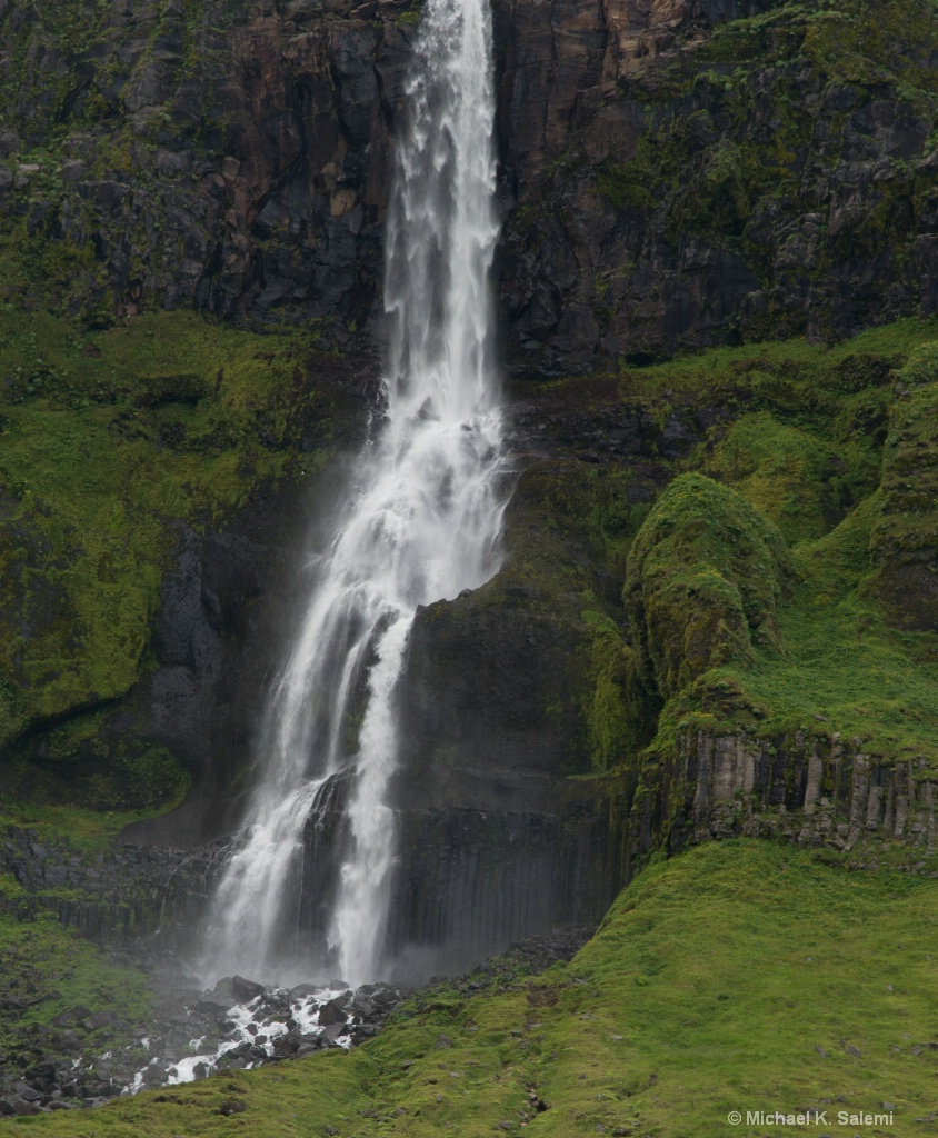 Snaefellsnes Waterfall