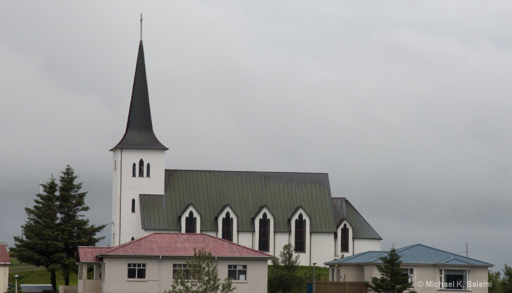 Church near Settlement Center