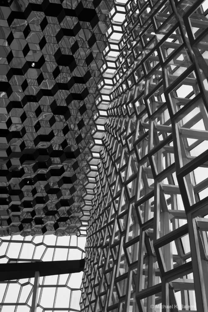 Harpa from Within