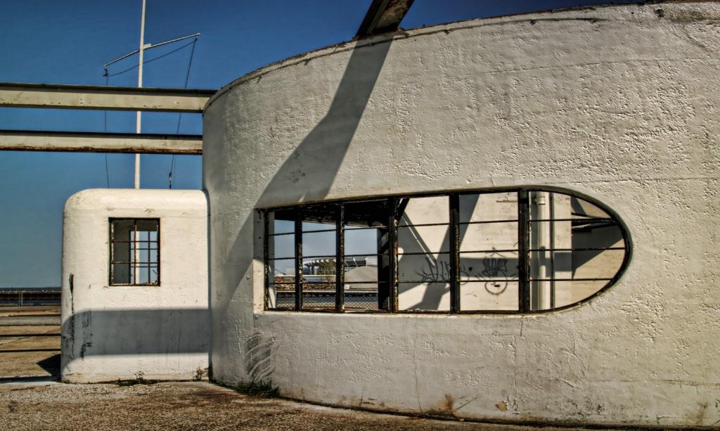 Deserted Coast Guard Station
