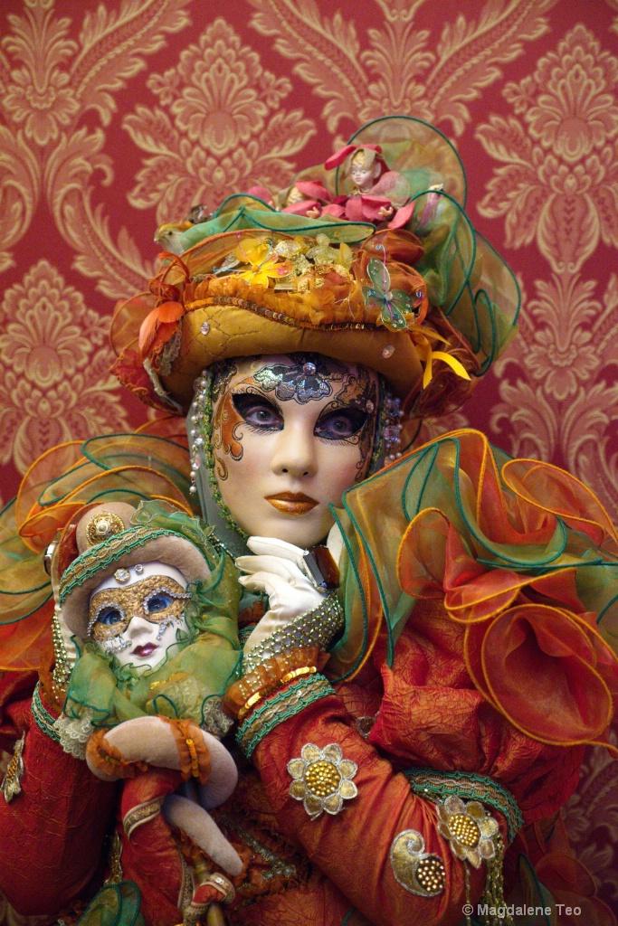 Venice Carnival: Portraits Series - Close Up