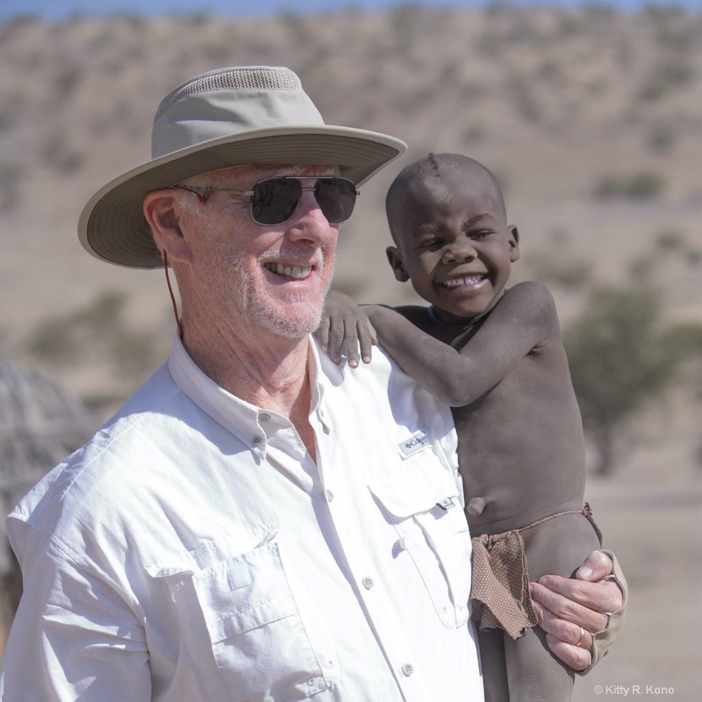 Sean and Himba Boy