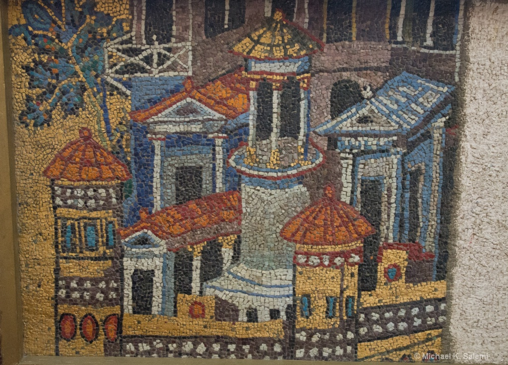 Mosaic at the Vatican