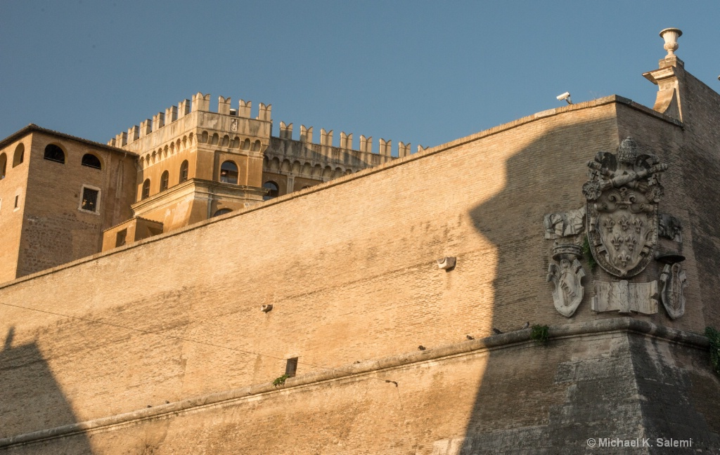 The Vatican in Morning Light
