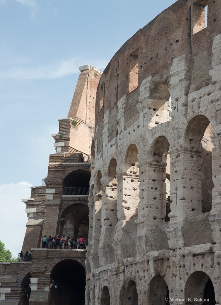 Outer Walls of Colosseum