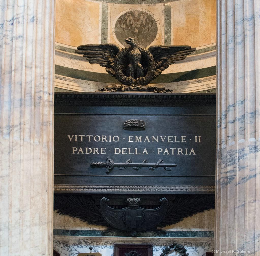 Pantheon Tomb of Victor Emmanuel