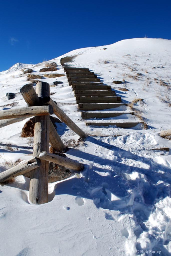 Loveland Pass Stairs