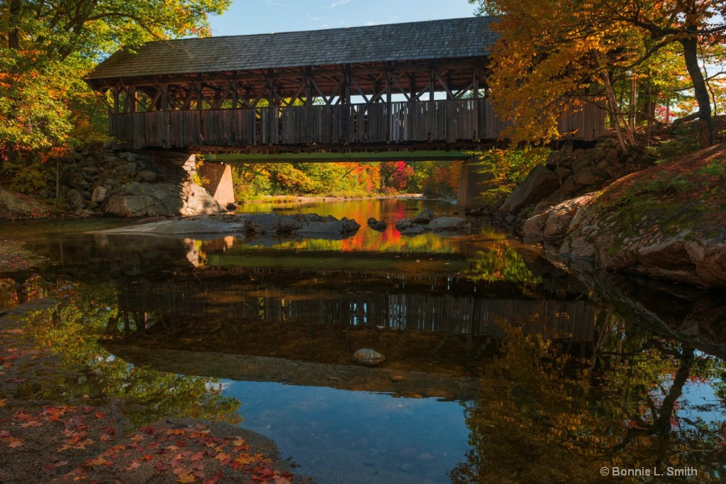 The Artists Covered Bridge