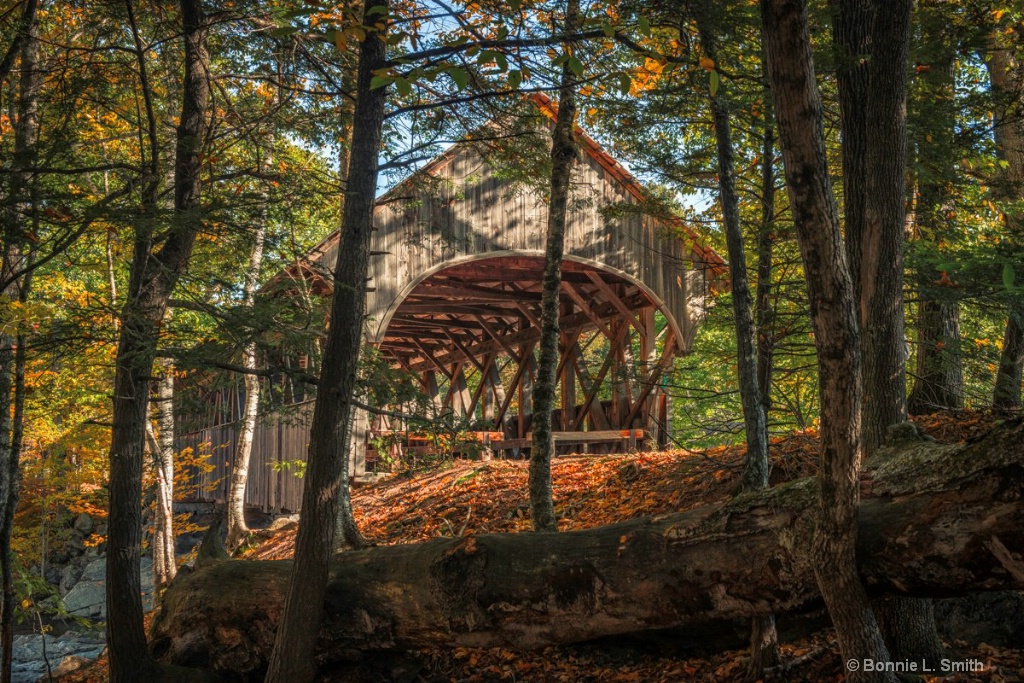 The Covered  Bridge at Sunday River