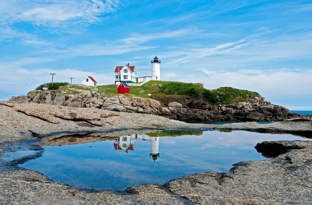 Nubble reflected
