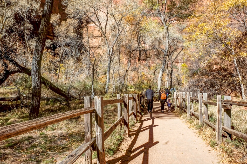 River Walk at Zion National Park