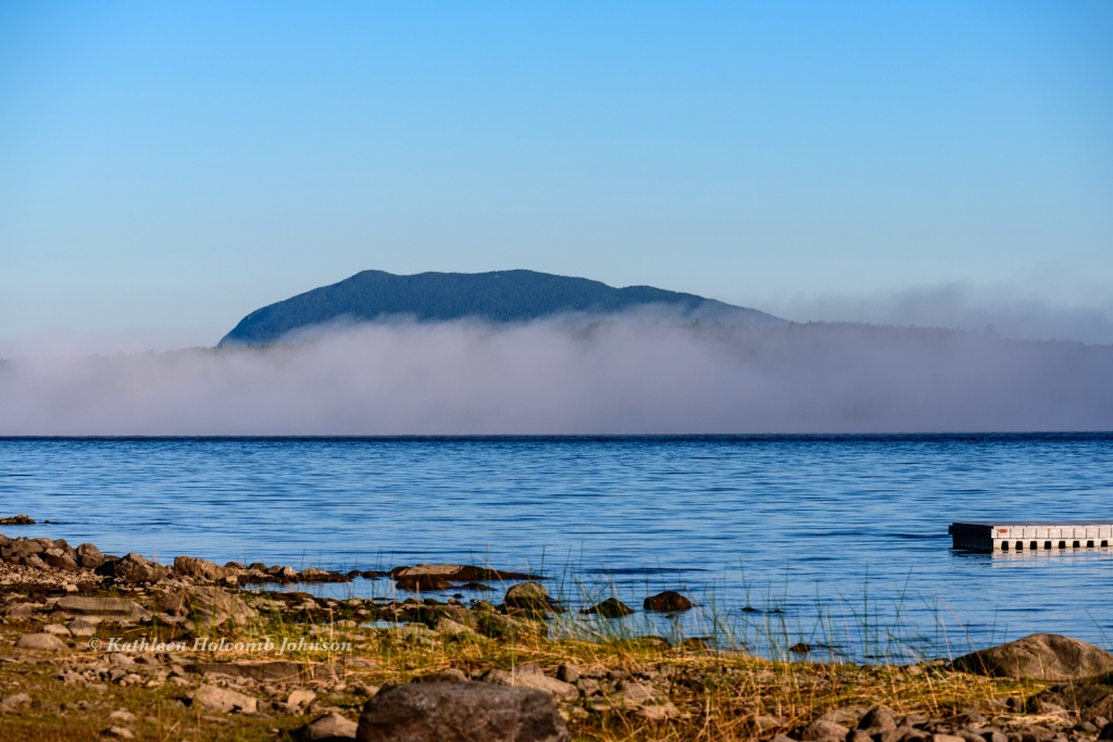 Foggy Morning Over Little Spencer Mountain!