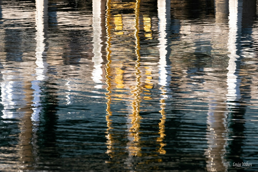 Harbour Reflection 1