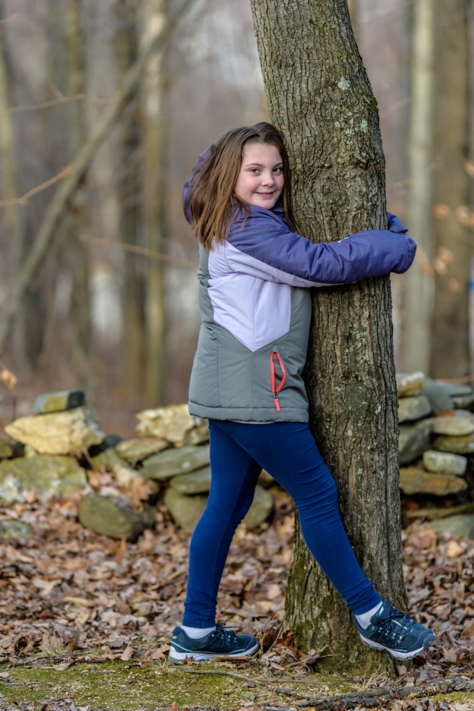 Tree Hugger Girl!