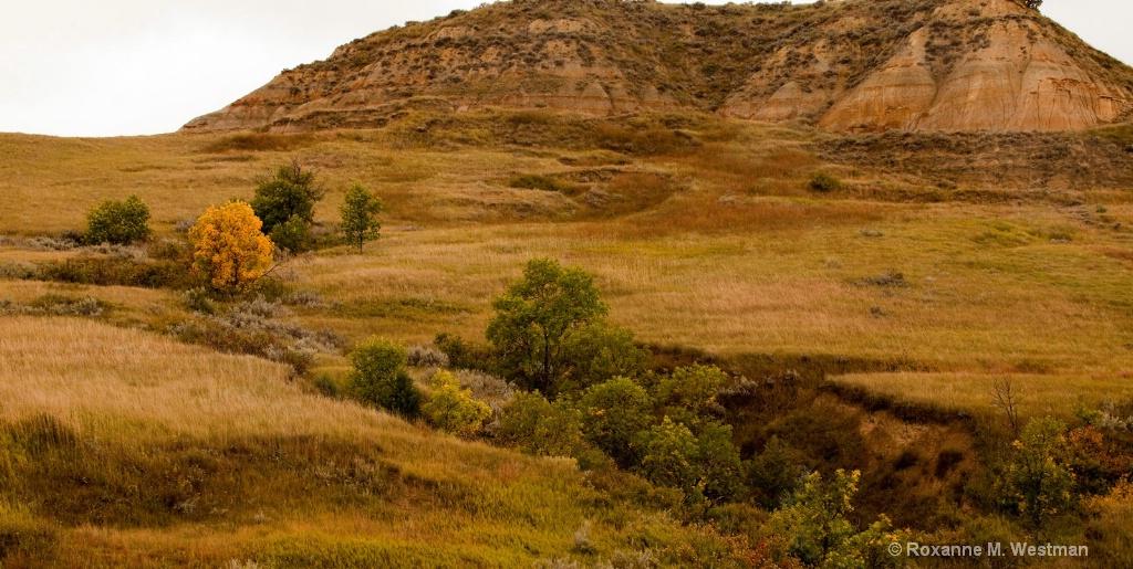 Fall in the North Dakota Badlands