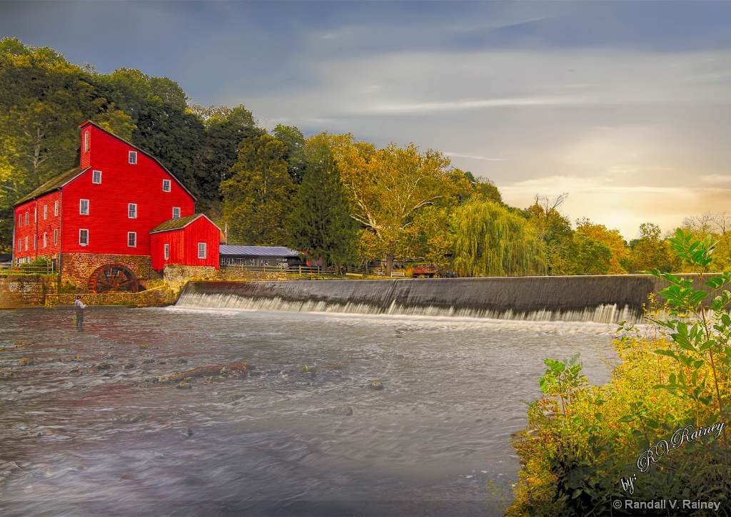 The Red Grist Mill . . .