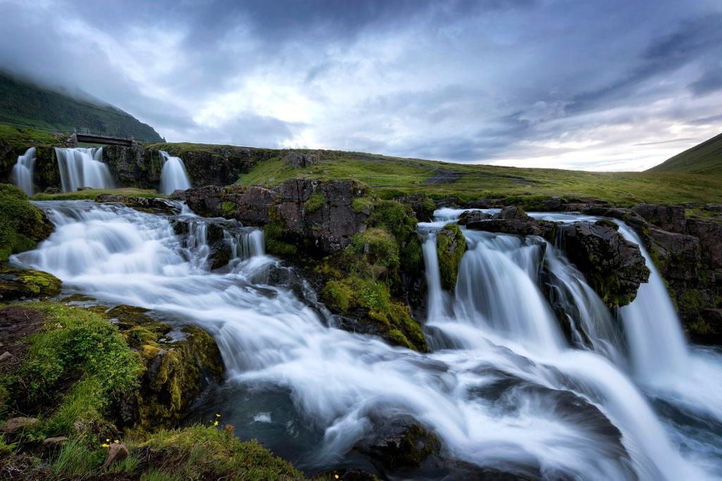 Summer Night in Iceland