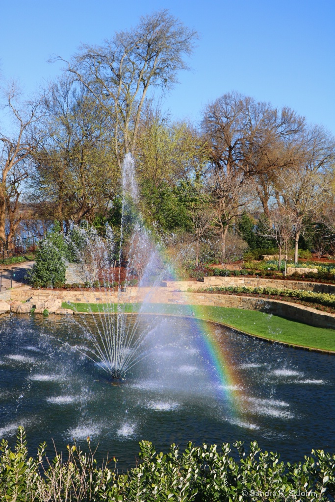 Dallas Arboretum  - Captured the Rainbow