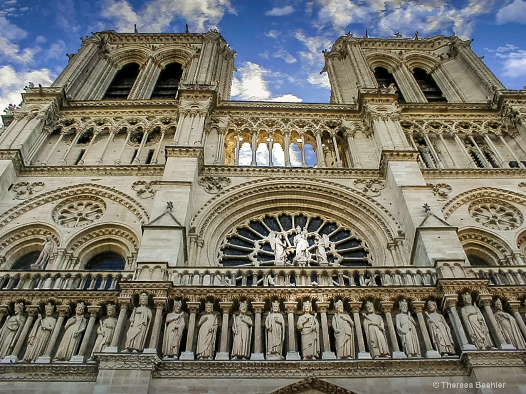 Architecture - Beautiful Notre Dame