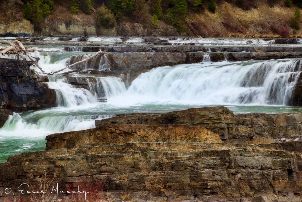 Kootenai Falls in Spring