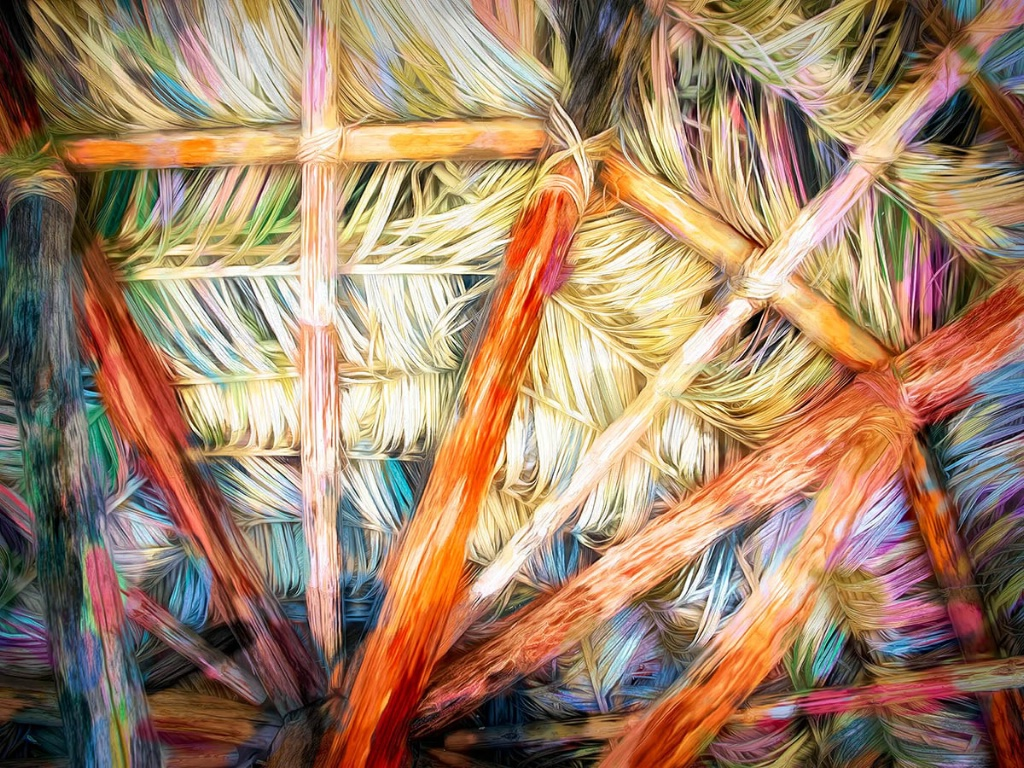 Palapa Abstract