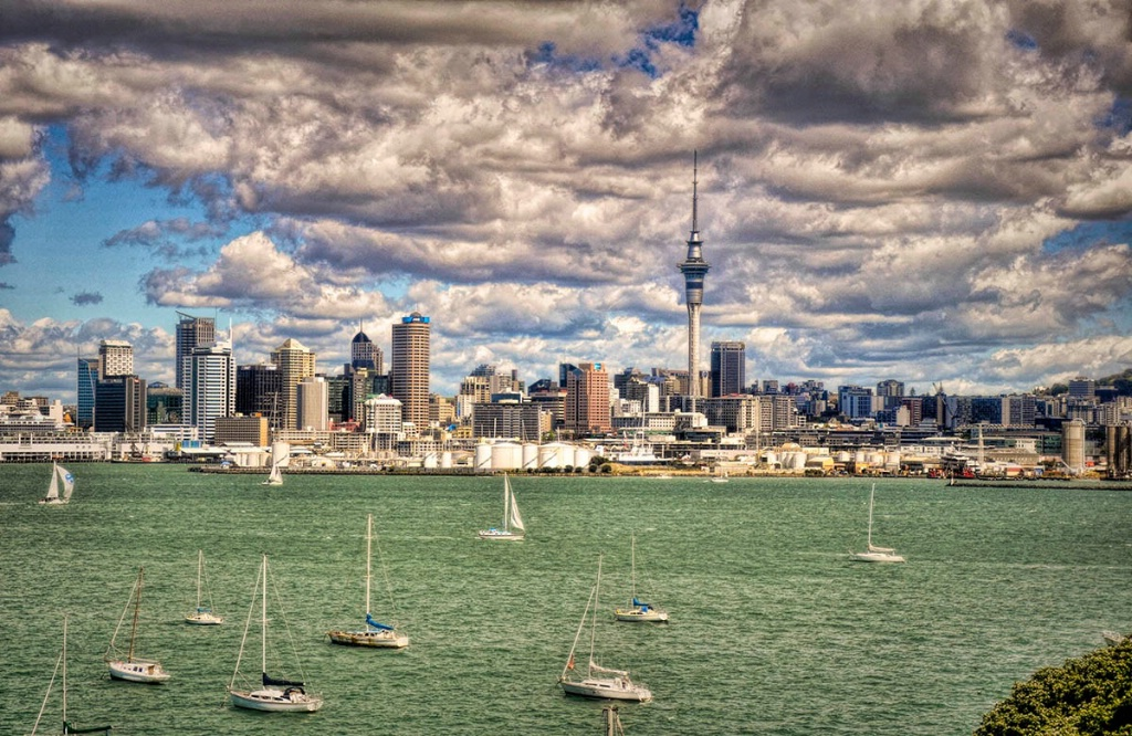 A View Of Auckland