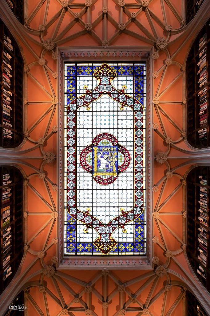 Livraria Lello Ceiling