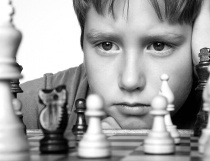 Photography Contest Grand Prize Winner - November 2001: What Would Bobby Fischer Do?