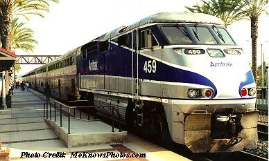Engine 459 Surfliner