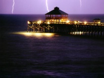 The Storm July 2002 in Folly Beach SC