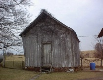 Meat House on King's Farm in Meade County, KY