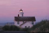 Point Wilson Lighthouse at Dusk