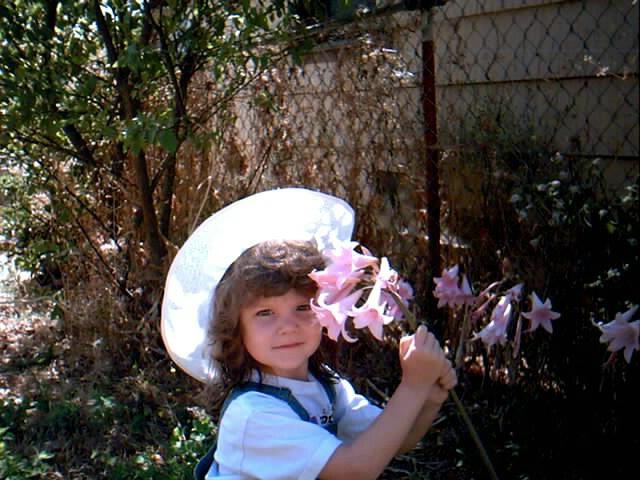 Flower child?