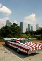 Stars and Stripes Car
