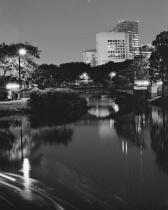 Esplanade night scene