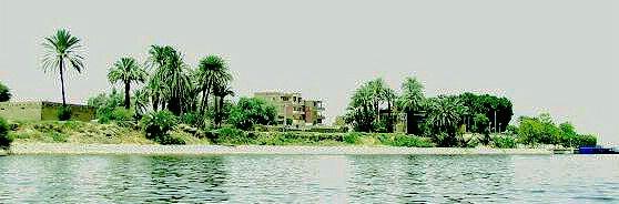 Along the Nile River, Egypt.