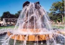 Fountain at Fair Park
