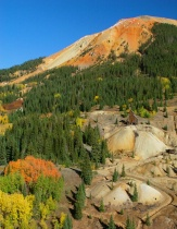 Red Mountain Pass in Fall