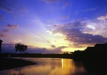 Sunset - Horizontal, Low Horizon