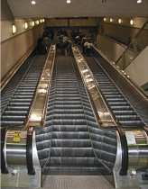 Touch up of Escalator