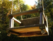 Childs Swing from Toddler Height