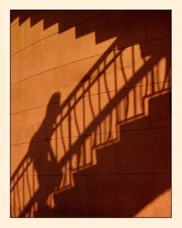 Photography Contest Grand Prize Winner - October 2002: Climbing on the Curving Wall