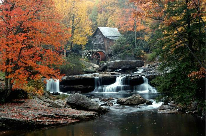 Glades Creek Mill, W.Va. - ID: 54354 © GARY  L. ROHRBAUGH