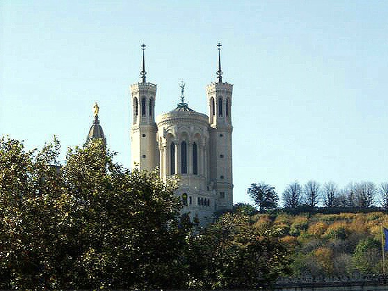 Fouviere Basilica, Lyon, France.