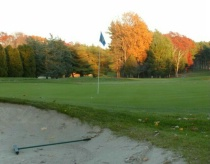 Sunset on the Course.
